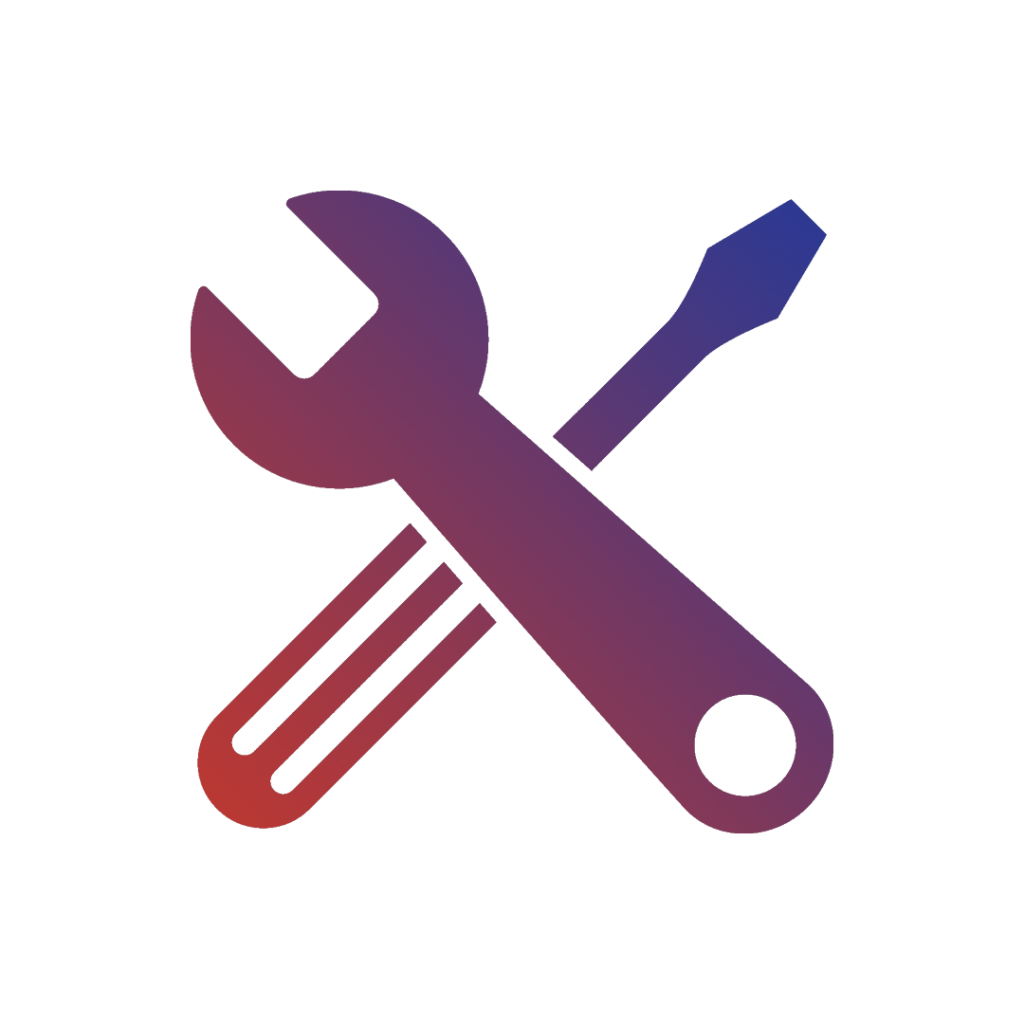 Service and maintenance icon